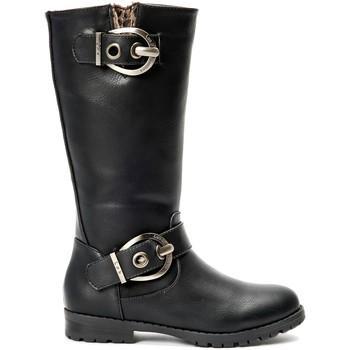 Zapatos Mujer Botas urbanas La Vitrine De La Mode Les P'tites Bombes  Botte 4-Gaelle Noir Negro