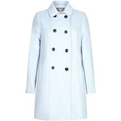 textil Mujer Abrigos Bhs - Abrigo de Invierno Para Mujer Blue