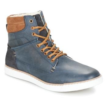Zapatos Niño Zapatillas altas Bullboxer  Azul / Camel