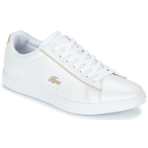 Zapatos Mujer Zapatillas bajas Lacoste CARNABY EVO 118 6 Blanco