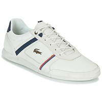 Zapatos Hombre Zapatillas bajas Lacoste MENERVA 118 1 Blanco