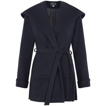 textil Mujer Abrigos De La Creme Abrigo con abrigo de cachemir de lana de invierno Blue