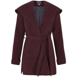 textil Mujer Abrigos De La Creme Abrigo con abrigo de cachemir de lana de invierno Red
