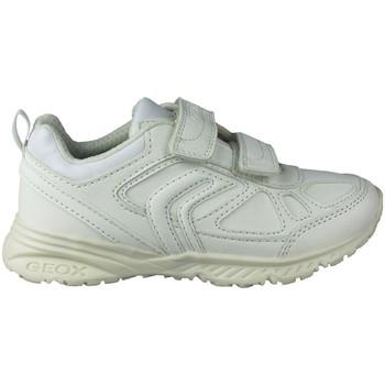 Zapatos Niños Zapatillas bajas Geox BERNIE G DEPORTIVA BLANCO
