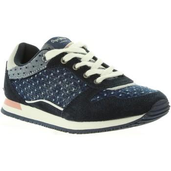 Zapatos Niña Zapatillas bajas Pepe jeans PGS30317 SYDNEY Azul