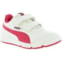Zapatos Niños Zapatillas bajas Puma 190114 STEPFLEEX Blanco