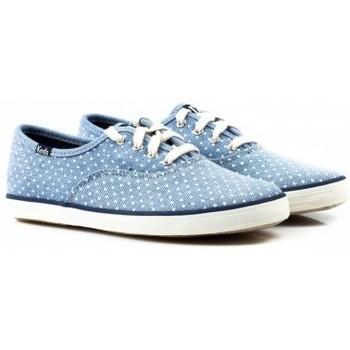 Zapatos Niños Zapatillas bajas Keds Zapatilha CHAMP CVO  CHAMBRAY HEART Azul