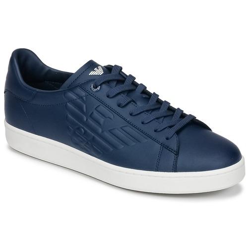 Zapatos especiales para hombres y mujeres Emporio Armani EA7 CLASSIC U Azul