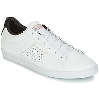 Zapatos Mujer Zapatillas bajas Le Coq Sportif AGATE LO S LEA/SATIN Blanco / Negro