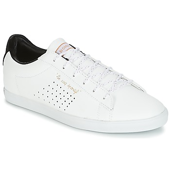 Zapatos Mujer Zapatillas bajas Le Coq Sportif AGATE LO S LEA/SATIN Blanco