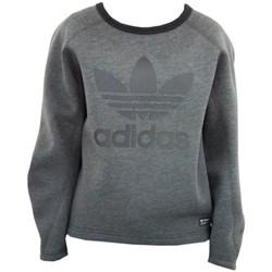 textil Mujer jerséis adidas Originals Originals Bonded Crew Sweatshirt Grafito