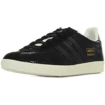 Zapatos Mujer Zapatillas bajas adidas Originals Gazelle Og negro
