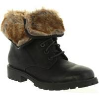 Zapatos Mujer Botines MTNG 52586 Negro