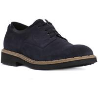 Zapatos Hombre Derbie Eveet CAMOSCIO BLU Blu
