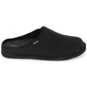 Zapatos Hombre Pantuflas Fargeot Calou Noir Negro