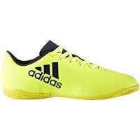 Zapatos Niños Zapatillas bajas adidas Originals X 174 IN J Amarillo