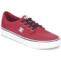 Zapatos Hombre Zapatillas bajas DC Shoes TRASE TX MEN Rojo / Negro