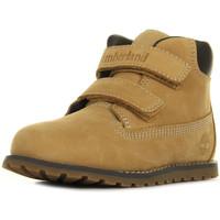 Zapatos Niño Botas de caña baja Timberland Pokey Pine Beige