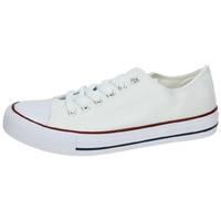 Zapatos Mujer Zapatillas bajas Demax Lonas blancas Blanco