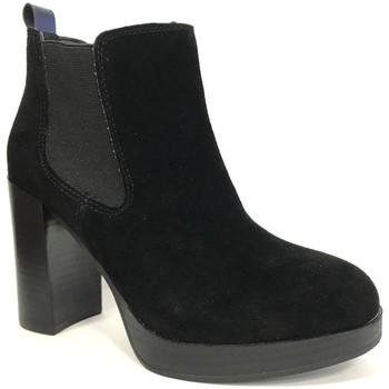 Zapatos Mujer Botines Cassis Côte d'Azur Cassis cote d'azur Bottine Ludivine Noir Negro