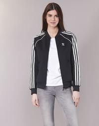 textil Mujer chaquetas de deporte adidas Originals SST TT Negro