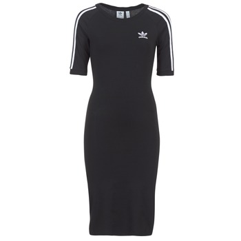 textil Mujer vestidos cortos adidas Originals 4 STRIPES DRESS Negro