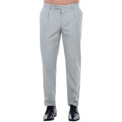 textil Hombre Pantalón de traje Jack & Jones 12120554 JPRISAC TROUSER LIGHT GREY MELANGE Gris claro