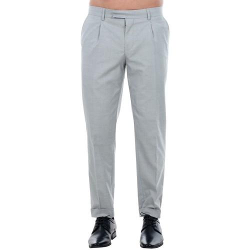 Jack & Jones 12120554 JPRISAC TROUSER LIGHT GREY MELANGE Gris claro - textil Pantalón de traje Hombre