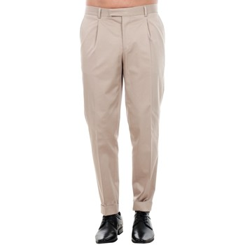textil Hombre Pantalón de traje Jack & Jones 12120552 JPRBONO TROUSER STRING Beige