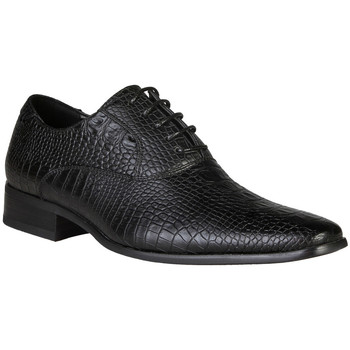 Zapatos Hombre Richelieu V 1969 HECTOR NERO RET Negro