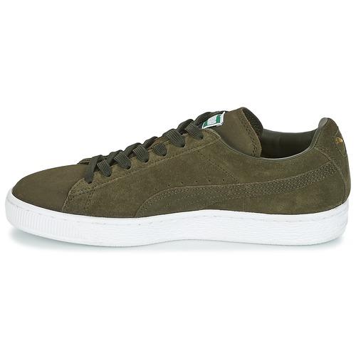 Zapatillas Puma Bajas ClassicKakiBlanco Zapatos Suede H9YE2IWD