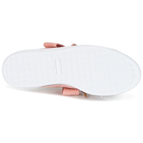 Zapatillas Puma Heart Bajas Mujer W's Zapatos Rosa Basket Patent 7Yfybv6g