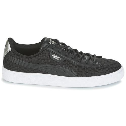 Zapatos Negro Mujer Basket Puma Wn's Satin Zapatillas Ep Bajas q45cjAL3R