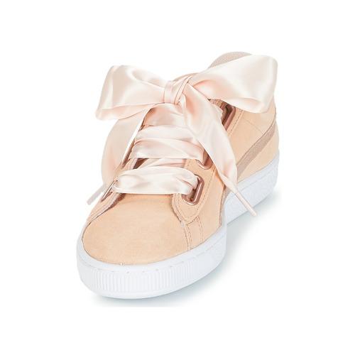 Zapatos Suede Rosa Puma Mujer Lunalux Zapatillas W's Bajas Heart Nwvm8On0