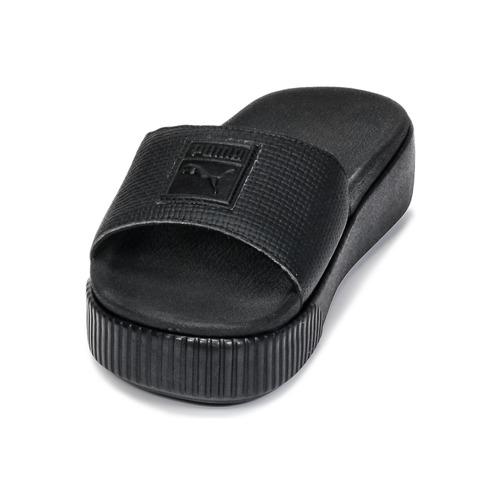 Mujer Slide Wns ZuecosmulesPuma Platform Zapatos Ep Negro PXZOkiu