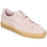 Zapatos Mujer Zapatillas bajas Puma SUEDE CLASSIC BUBBLE W'S Rosa