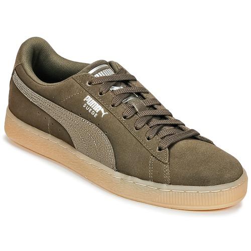 Venta de liquidación de temporada Zapatos especiales Puma SUEDE CLASSIC BUBBLE W'S Negro / Gris