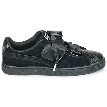 Puma SUEDE HEART BUBBLE WS Negro