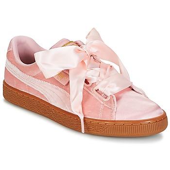 Zapatos Mujer Zapatillas bajas Puma BASKET HEART VS W'N Rosa