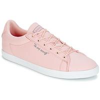 Zapatos Mujer Zapatillas bajas Le Coq Sportif AGATE LO CVS/METALLIC Rosa