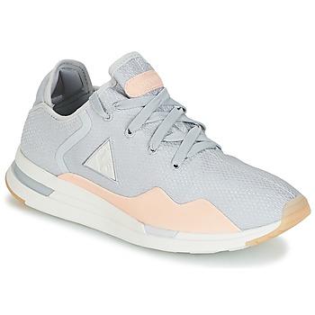 Zapatos Mujer Zapatillas bajas Le Coq Sportif SOLAS W SUMMER FLAVOR Gris / Beige