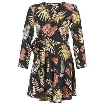 textil Mujer vestidos cortos Betty London HYPO Negro / Multicolor