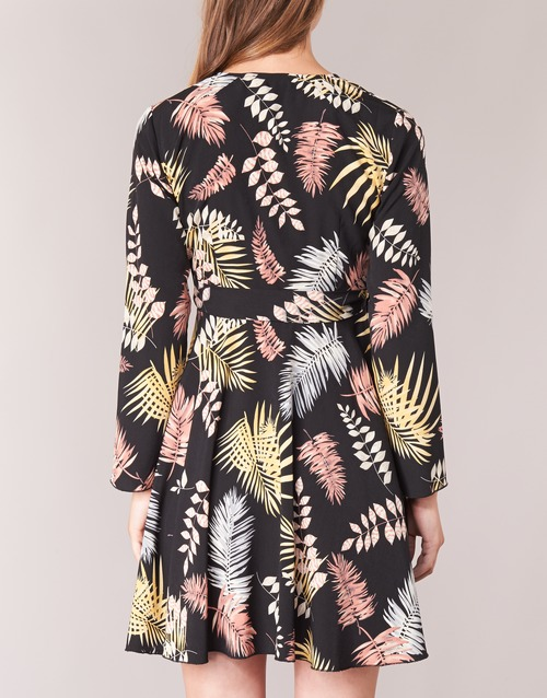 Betty Textil Mujer NegroMulticolor Vestidos London Hypo Cortos 35R4LqjA