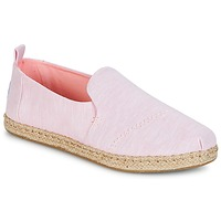 Zapatos Mujer Alpargatas Toms DECONSTRUCTED ALPARGATA ROPE Rosa