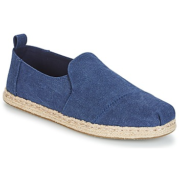 Zapatos Hombre Alpargatas Toms DECONSTRUCTED ALPARGATA ROPE Azul