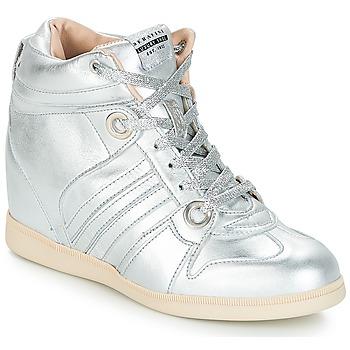 Zapatos Mujer Zapatillas altas Serafini MANHATTAN Plateado