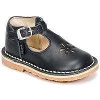 Zapatos Niños Bailarinas-manoletinas Aster BIMBO Marino
