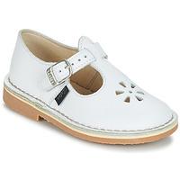 Zapatos Niños Bailarinas-manoletinas Aster DINGO Blanco