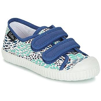 Zapatos Niño Zapatillas bajas Aster MICKY Blanco / Azul