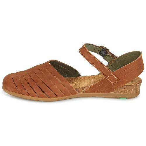 El Naturalista Mujer Stella Zapatos Sandalias Marrón hxQrdtsCB